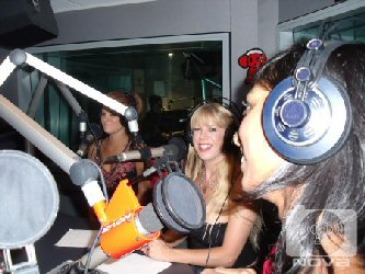 nova 100 radio fake or real tits competion with phoebe and rickianne
