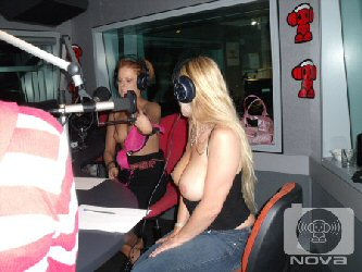 nova melbourne radio fake or real tits competion with phoebe and rickianne